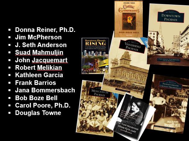 Arizona Authors -- collage